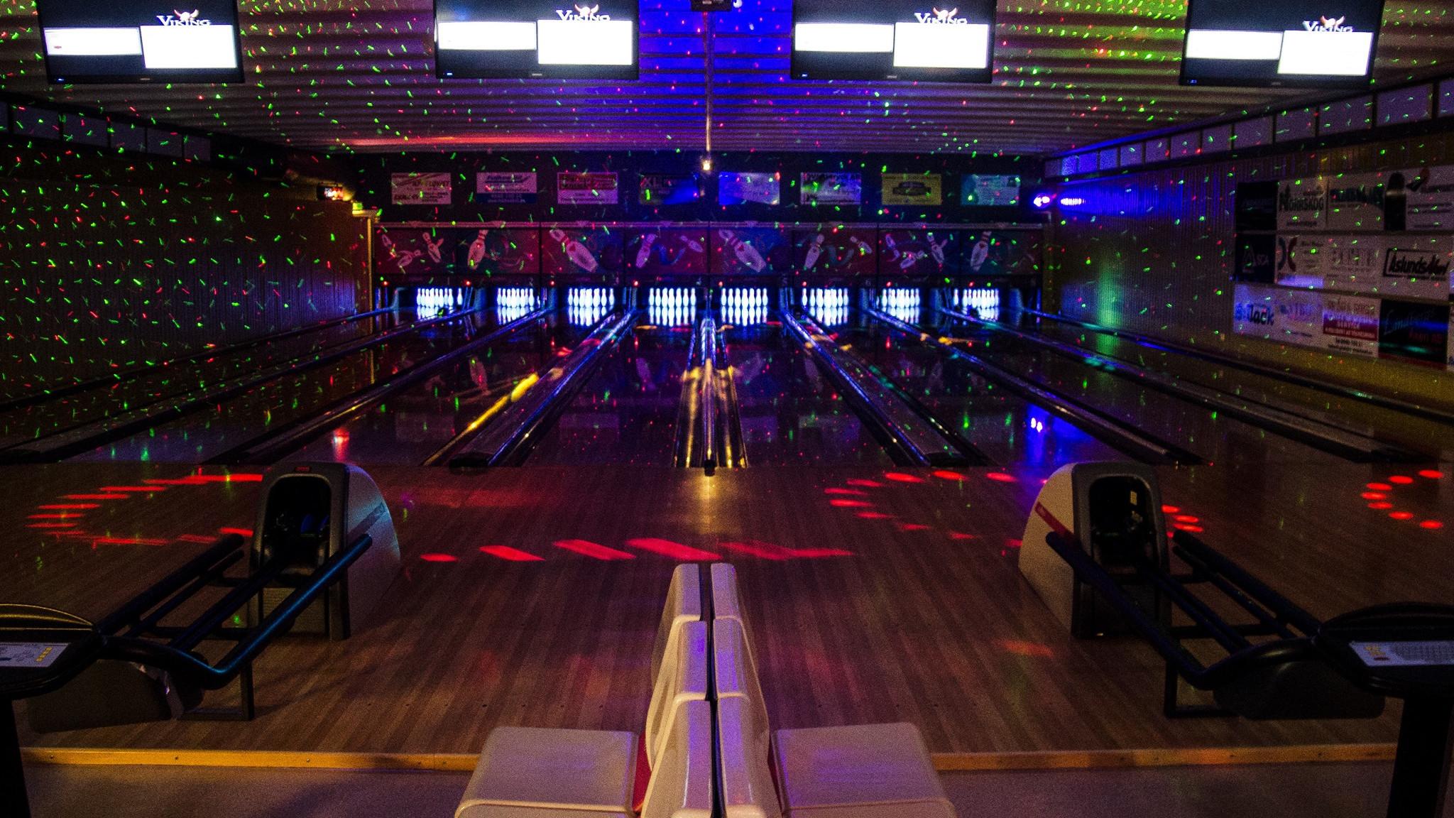 Bowlinghall med fullständiga rättigheter